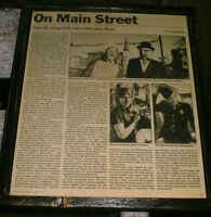 1972 article/pics about Sackville,NB - ready to display