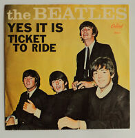 Beatles 1965 Ticket to Ride 45 RPM with Sleeve