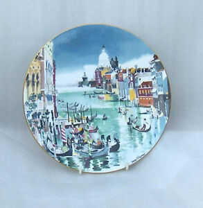 "Grand Canal Venice Royal Doulton 10-1/4"" Collector  Plate Belleville Belleville Area image 2"
