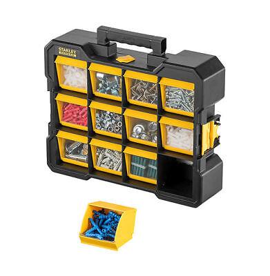 Stanley FatMax Flip Bin Organizer Kleinteilekasten Kleinteilebox Sortierkasten