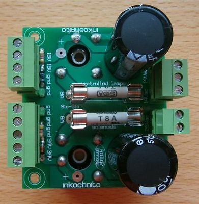 Inkochnito's Bridge Board for Williams 3 thru 11A & Data East pinball machines
