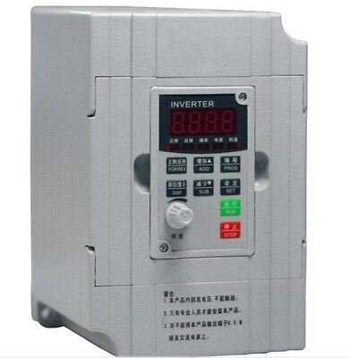 Tc 1.5kw 7a Frequency Inverter Converter General Vector Type 220v Icigbt Rs485