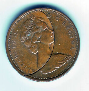 RARE Canadian 1 cent minting error Windsor Region Ontario image 1