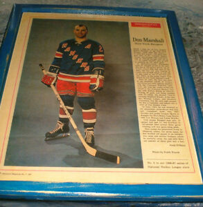 Original Six - New York Ranger player pics - 1960's - 4 diff
