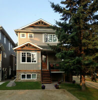 Beautiful Home in Sylvan Lake Cottage Area with Legal Suite