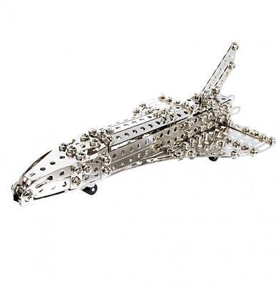 Metallbaukasten Space Shuttle - Eitech - Baukasten Metall inklusive Werkzeug