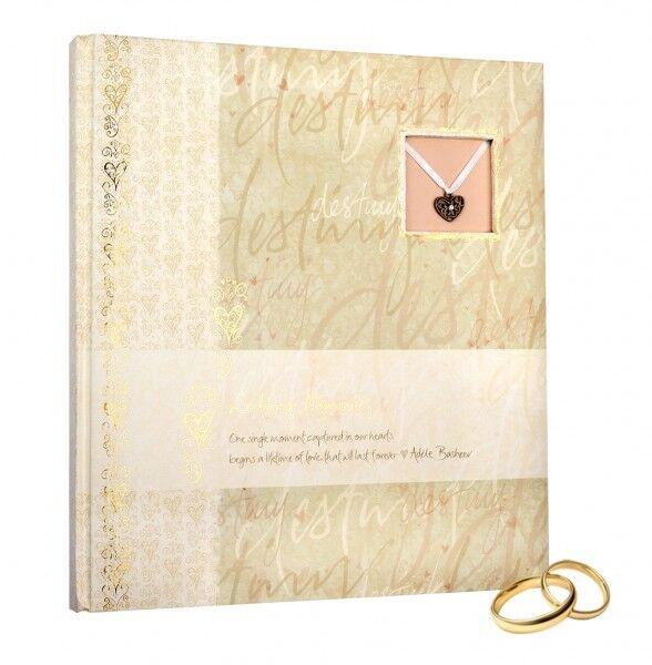 HENZO Hochzeitsalbum GOLD Hochzeitsfotoalbum Fotoalbum Album Hochzeit Geschenk