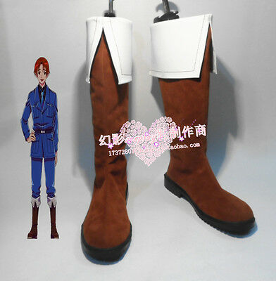 Axis Powers Hetalia Cosplay North Italy Army Halloween Long Cosplay Shoes Boots