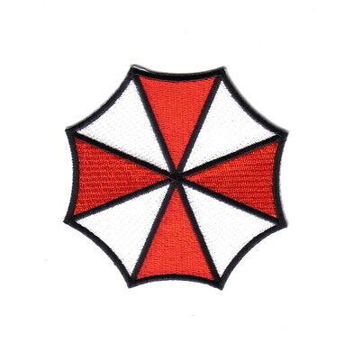 Resident Evil Umbrella Corporation Logo Large Shoulder Embroidered Patch, NEW