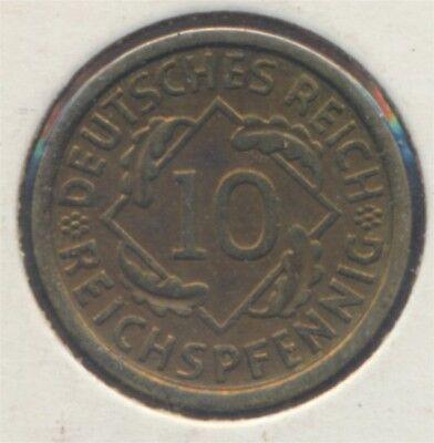 Deutsches Reich Jägernr: 317 1929 A Stgl./unzirkuliert 10 Reichspfennig (7869011