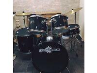 Drum kit full size 7 piece