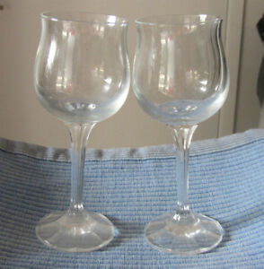 Crystal Stemware Wine Glasses