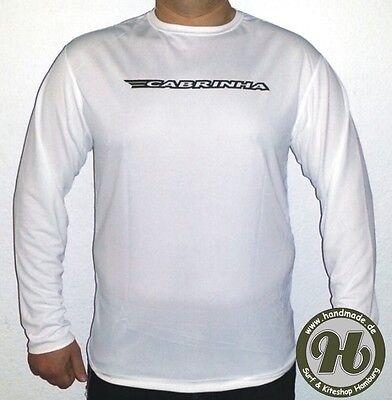 Cabrinha Kite Wet Shirt Wetshirt L/S  NEU white Gr. XL  ( 54 )