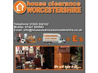 Worcestershire House Clearance. House clearance, Cash waiting for quality second hand effects