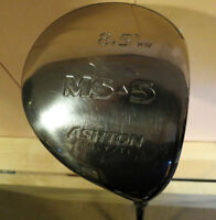High quality- Ashton MS High Launch Right Hand Driver/headcover