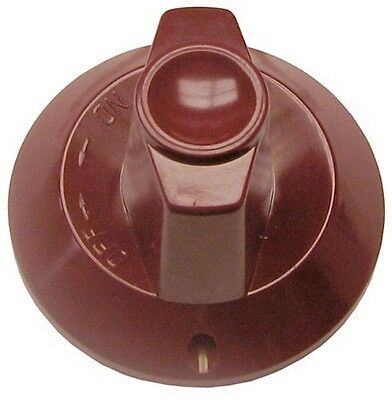 Red Plastic Burner Valve Knob For Wolf 00-719255-00002