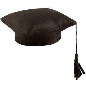 HAT-MORTAR-BOARD-GRADUATION-COLLEGE-SCHOOL-FANCY-DRESS-ACCESSORY-HEN-STAG-PARTY