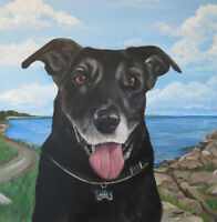 *One-Of-A-Kind Painting of your Furry Friend *