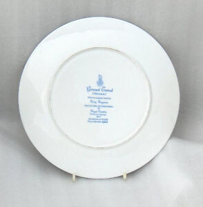 "Grand Canal Venice Royal Doulton 10-1/4"" Collector  Plate Belleville Belleville Area image 5"