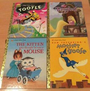 4 Little Golden books