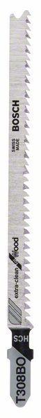 Bosch Stichsägeblatt x5 Extraclean für Holz T308B0 2608663868