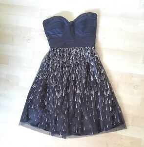 Strapless Formal dress size 1-2, extra small