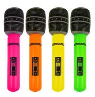 Inflable Micrófono Hinchable Juguete Neón Accesorio De Disfraz Karaoke -  - ebay.es