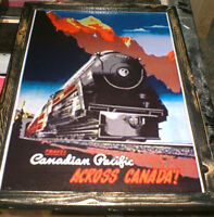 Canadian Pacific Railway (CPR) - 3 diff pics