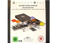 Depeche Mode SEALED 4x DELUXE 3CD & DVD BOX SETS Sounds Of The Universe