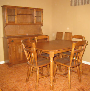 Ensemble Salle a Diner/Cuisine Bois Kitchen/Dining Room Set Wood West Island Greater Montréal image 1
