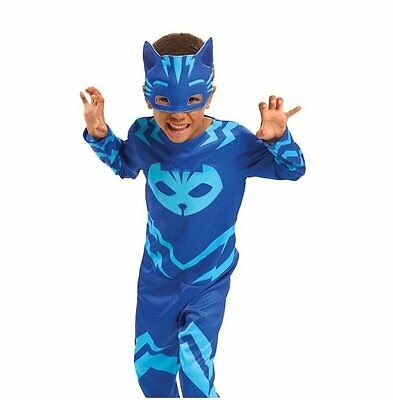 PJ MASKS CATBOY HERO Dress Up Set PYJAMA COSTUME + MASK