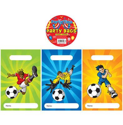 144 Fußball Leere Party Taschen - Spielzeug Beute Hochzeits Geschenk / Kinder
