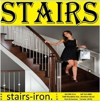 Crystal Ball Stainless Steel STAIRS Railing. easy to install