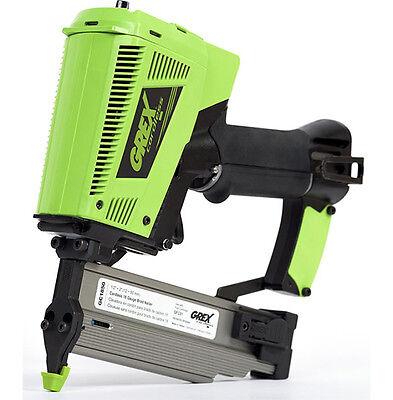 New Grex 2 18 Gauge Cordless Brad Nailer - Gc1850 Free 4 Pack Fuel Cartridges