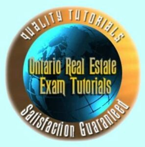 - REAL ESTATE TUTOR OREA ALL COURSES EXAM REVIEW QUESTIONS 2014 City of Toronto Toronto (GTA) image 1