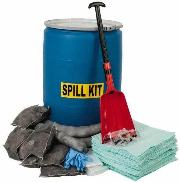 PRO-SAFE Universal Spill Kit 55 Gal Polypropylene Drum