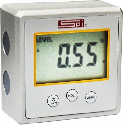 Spi 11-983-4 Digital Electronic Mini Protractor Level Inclinometer 2.2x2.2x1.2