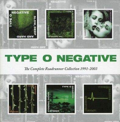type o negative -complete roadrunner collection 1991-2003 6 cd death metal neuf