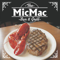 Mic Mac Bar and Grill line and Prep Cooks