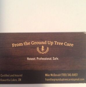 From The Ground Up Tree Care Kawartha Lakes Peterborough Area image 1