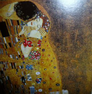"Gustav Klimt ""The Kiss"" Art Print Stratford Kitchener Area image 6"