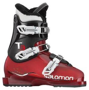 Salomon T3 RT Alpine Ski Boots Junior Size 22