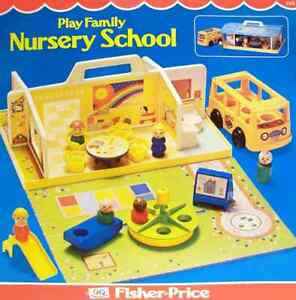 VINTAGE FISHER PRICE NURSERY # 929  1978