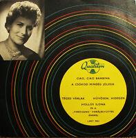 Hollos Sung Domenico Modugno - Ciao Ciao Bambina ( Piove ) 45 Ep 7, 1959 Listen -  - ebay.it