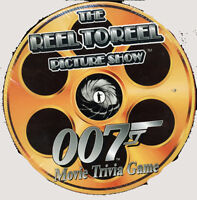 VINTAGE REEL TO REEL 007 PICTURE SHOW TRIVIA GAME