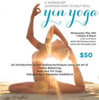 Yin Yoga and Chakra Workshop
