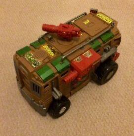 TMNT shellraiser van