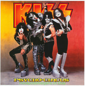 Kiss Double-Sided Promo Psycho Circus Poster-Like New!