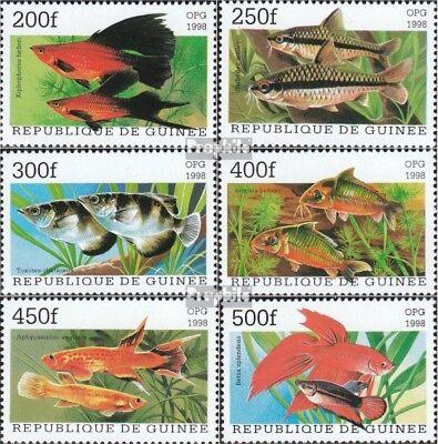 Guinee 1887-1892 (compleet Kwestie) MNH 1998 Populair Aquariumvissen