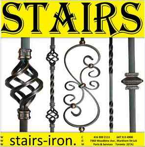 Stairs Manufacturer & Wrought Iron DOORS , Parts , Service